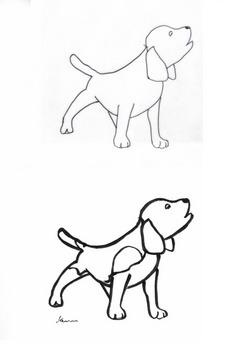 写し絵写仏488x703犬図.jpg
